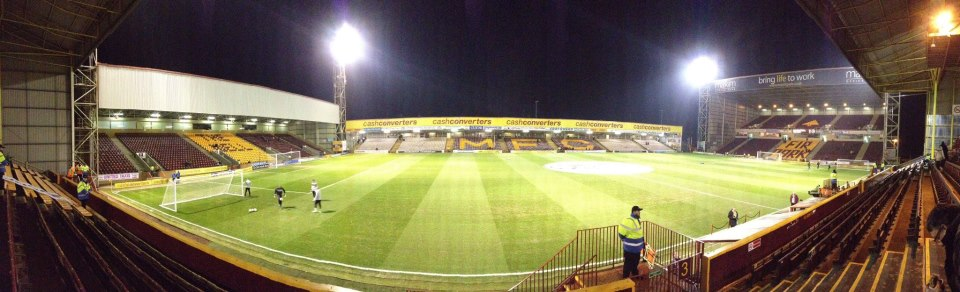 Panoramic Night - Fir Park