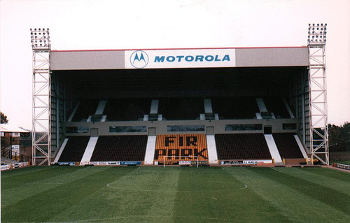 Newly Completed South Stand