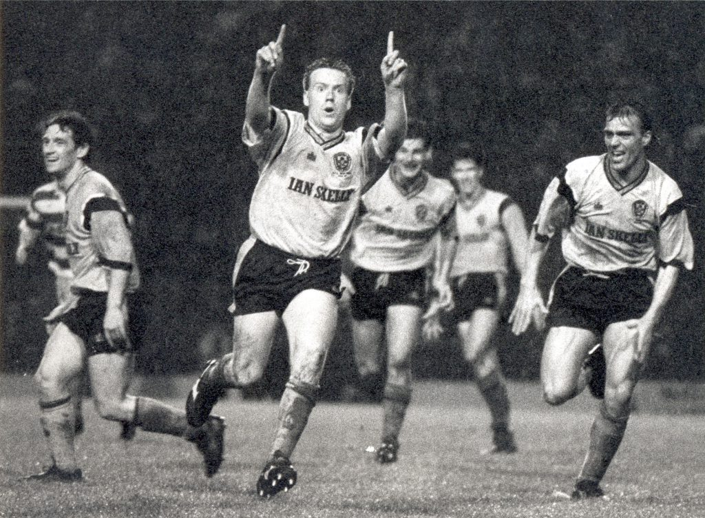 Colin O'Neil vs Celtic 1991