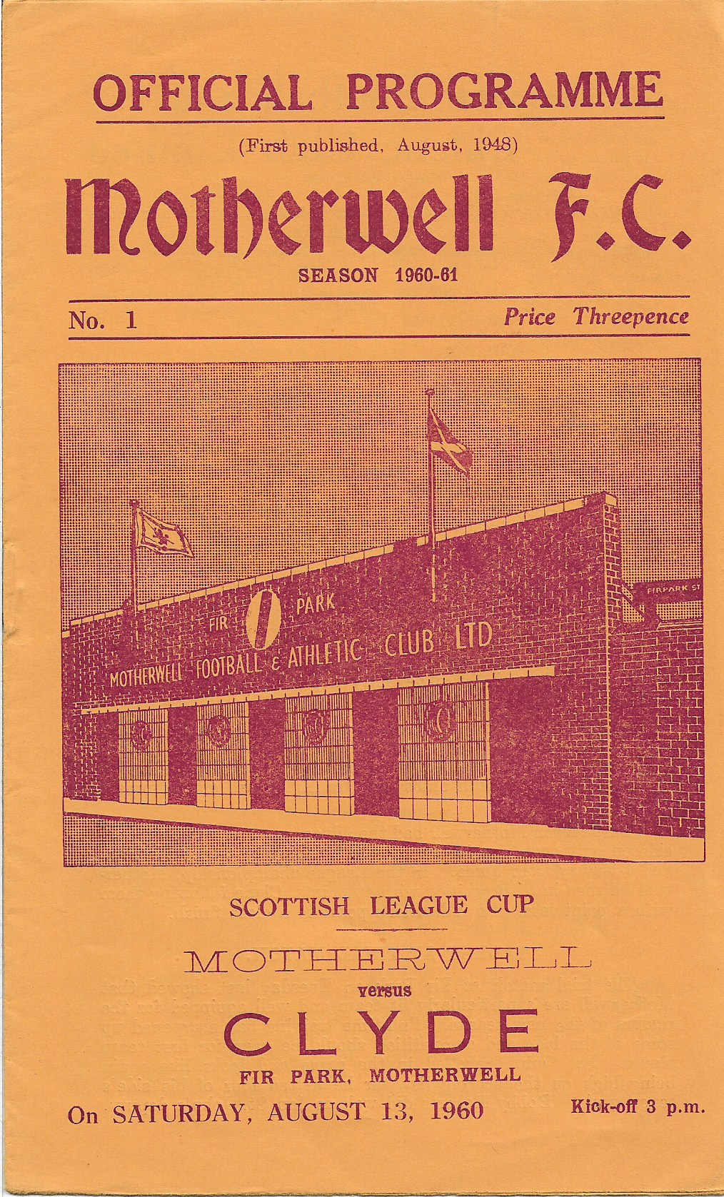 Clyde Programme Cover