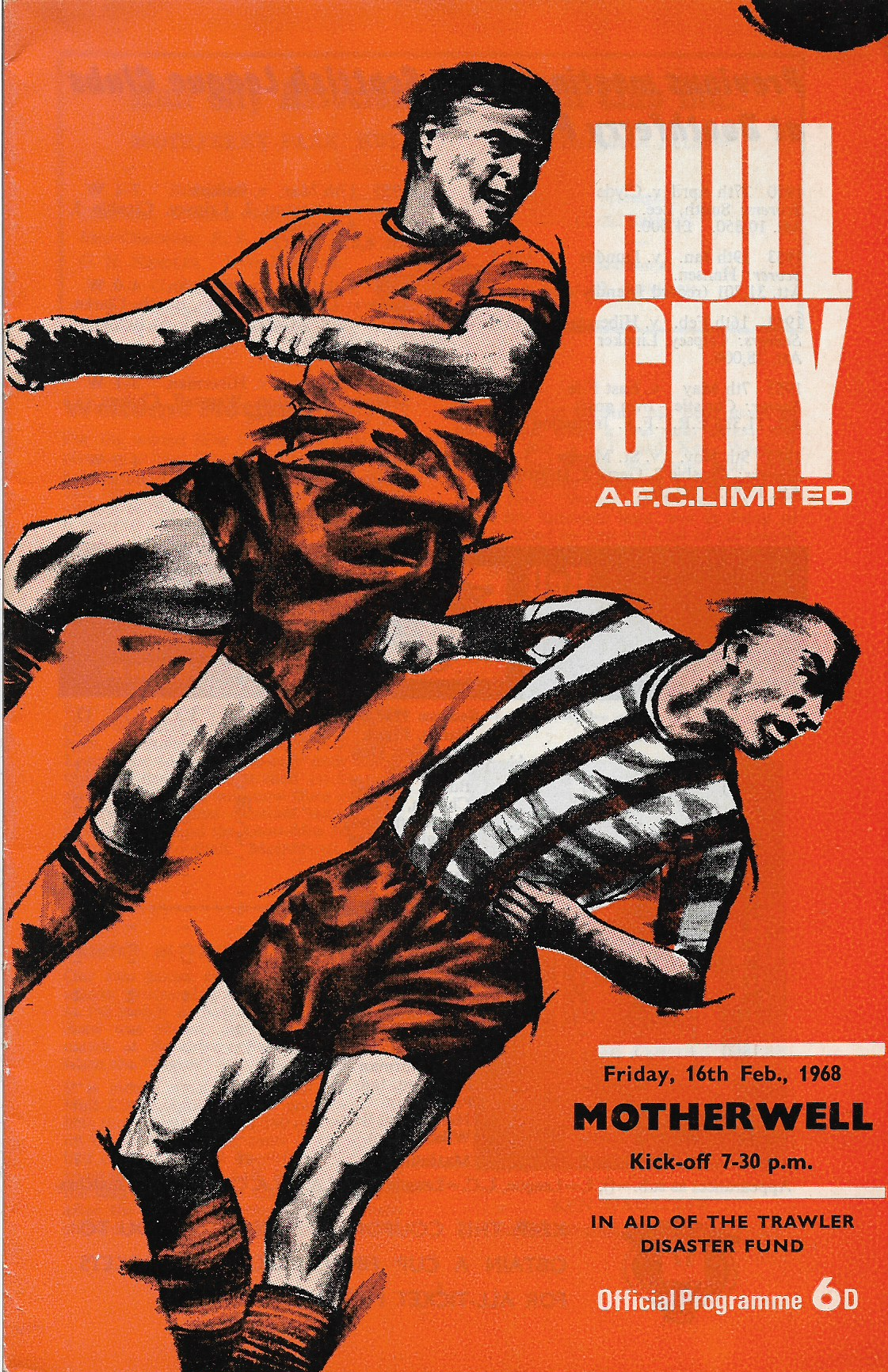 Programme Cover versus Hull City