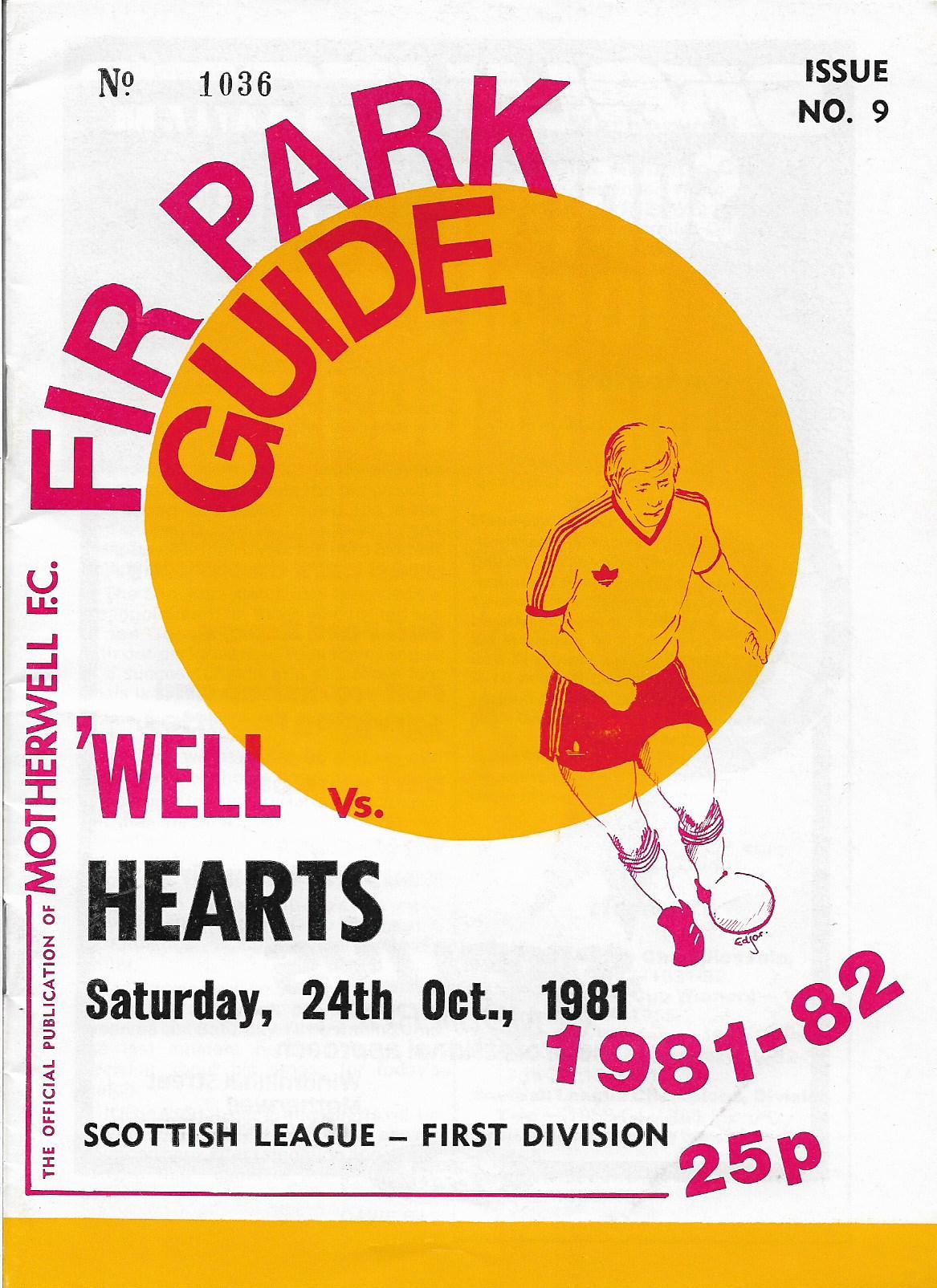 Programme Cover versus Hearts