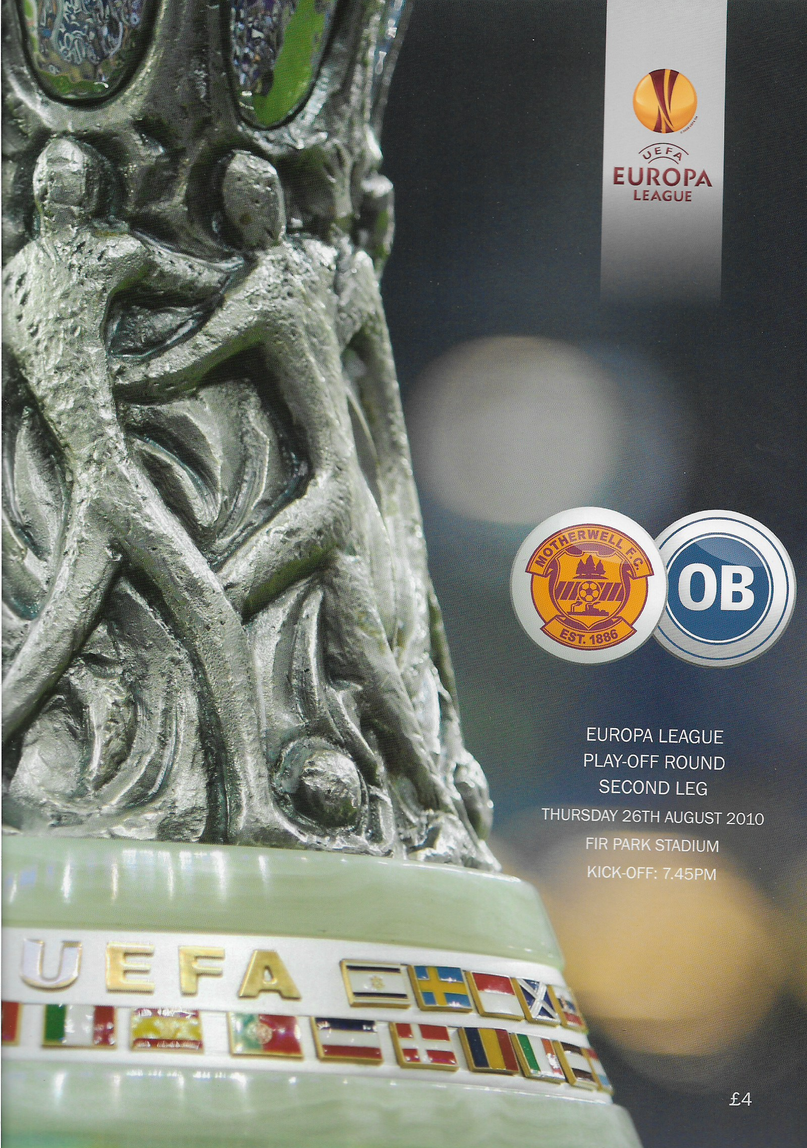 Programme Cover versus Odense