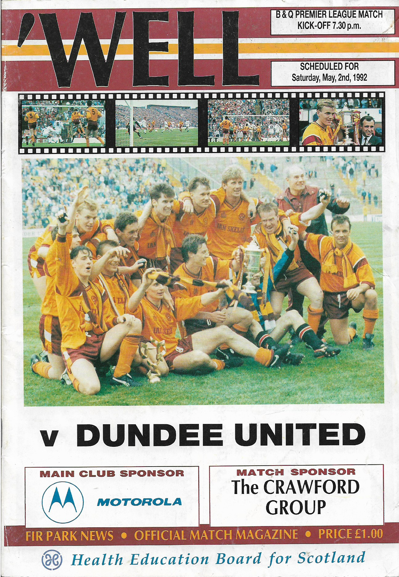 Programme Cover