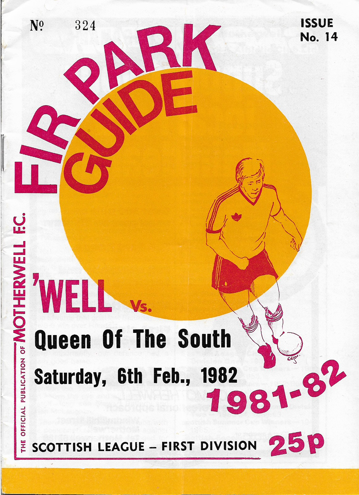 Programme Cover versus Queen of the South