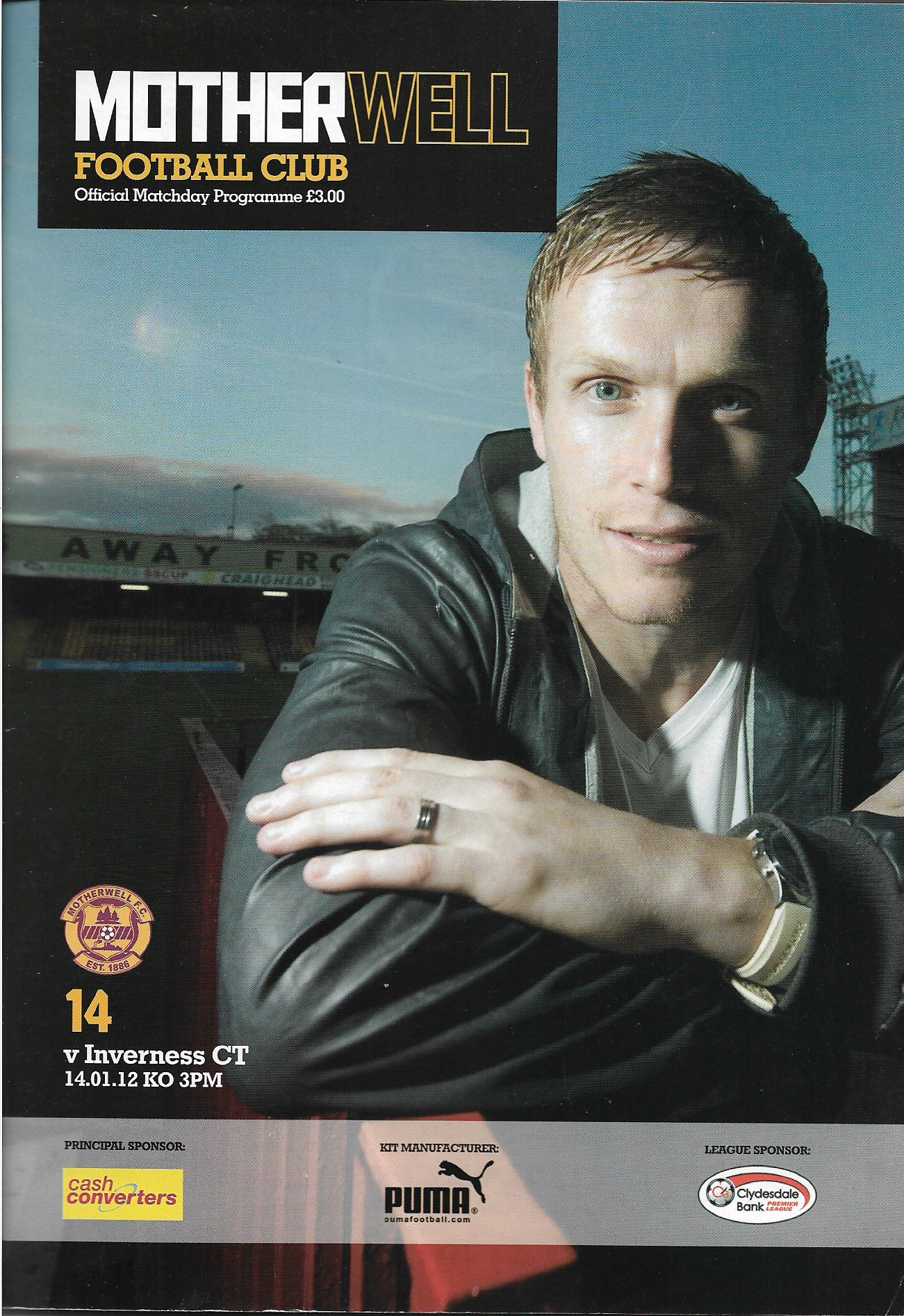 Programme Cover - 2011/12