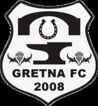 Gretna 2008 Crest