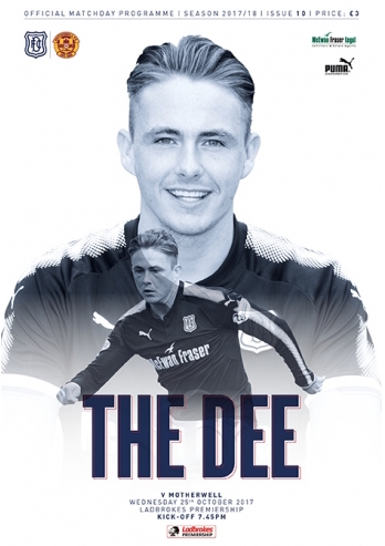 vs Dundee Programme Cover - 2017/18