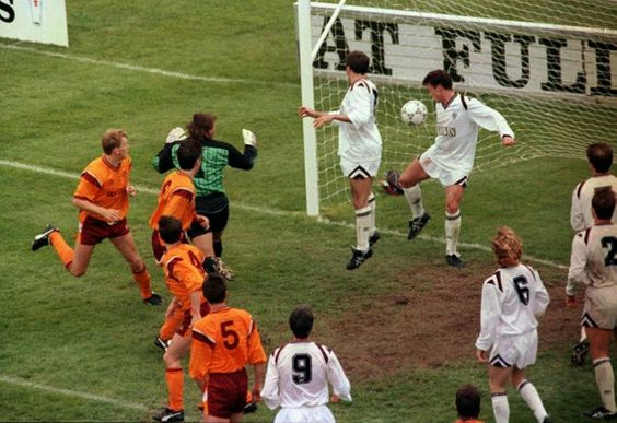 Stevie Kirk nods home the winner - 1991 scottish cup final