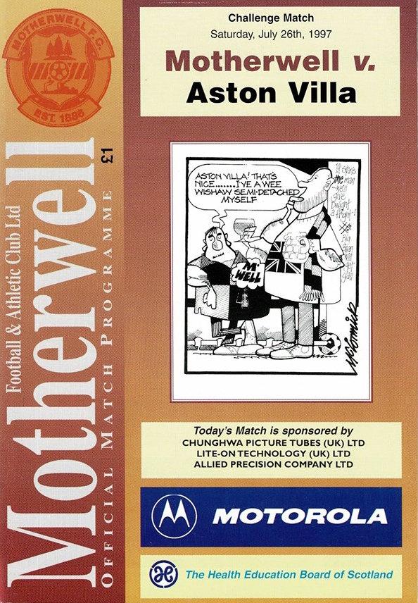 versus Aston Villa