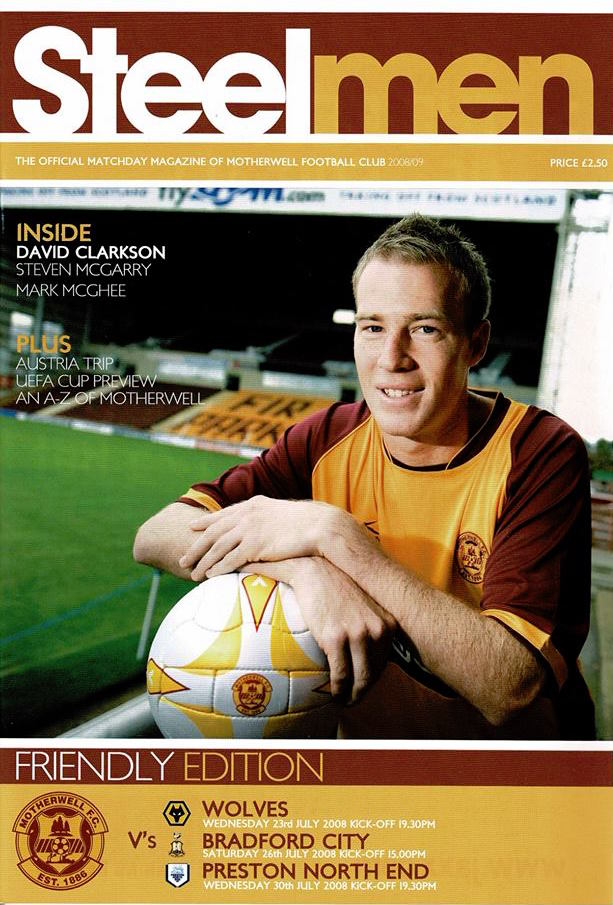 Triple Edition - Programme Cover versus Wolves, Bradford City & Preston North End