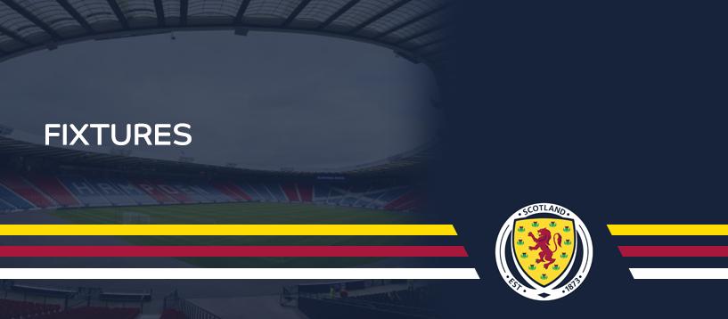 Scotland Fixtures Button