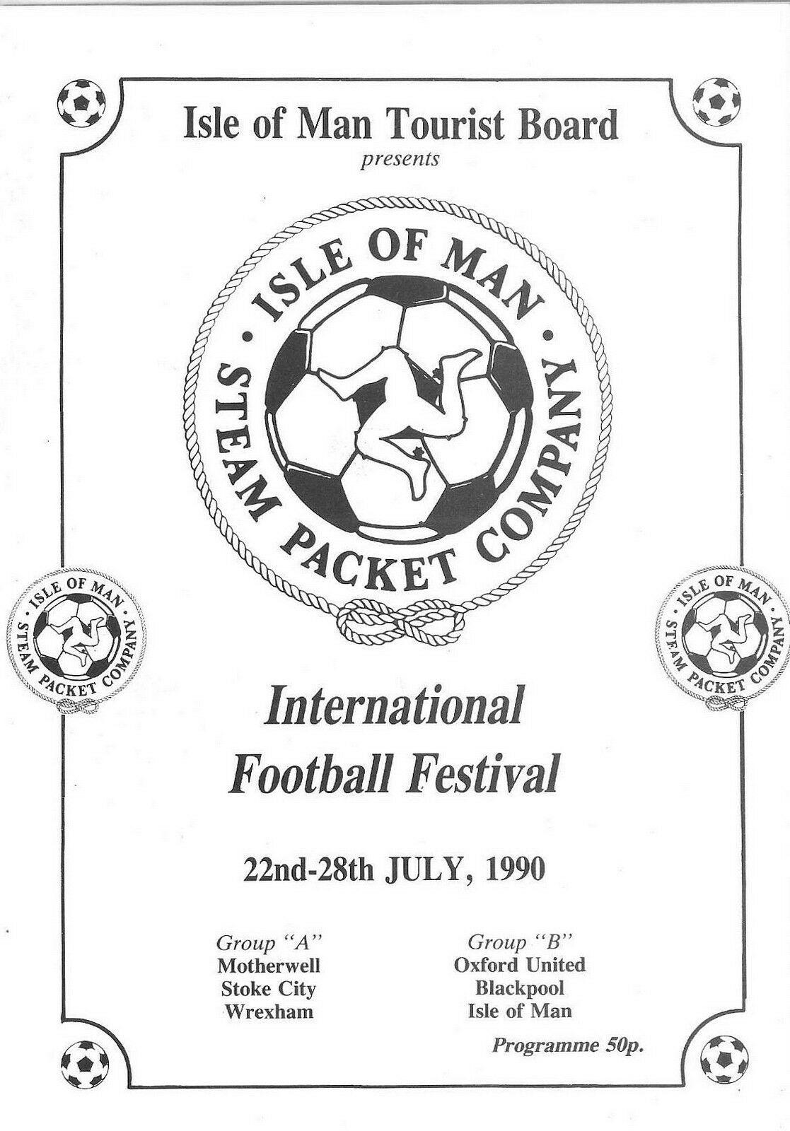 International Football Festival Programme