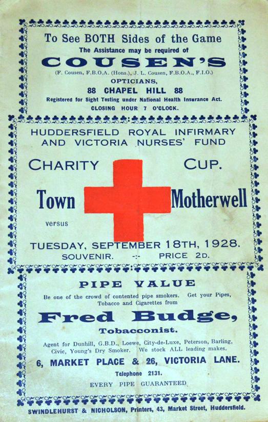 versus Huddersfield Town