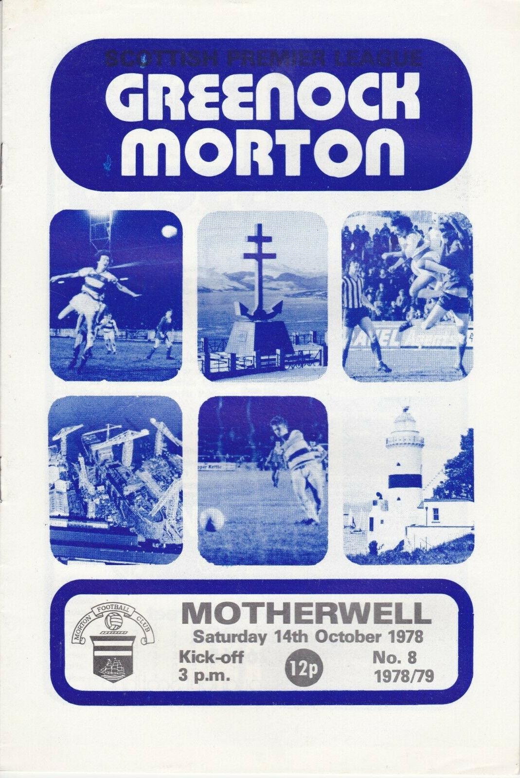 versus Morton Programme Cover
