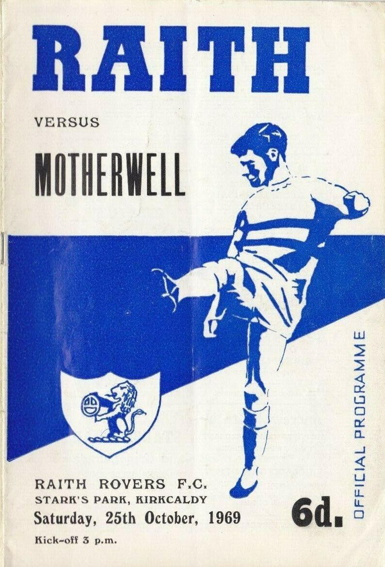 versus Raith Rovers Programme Cover