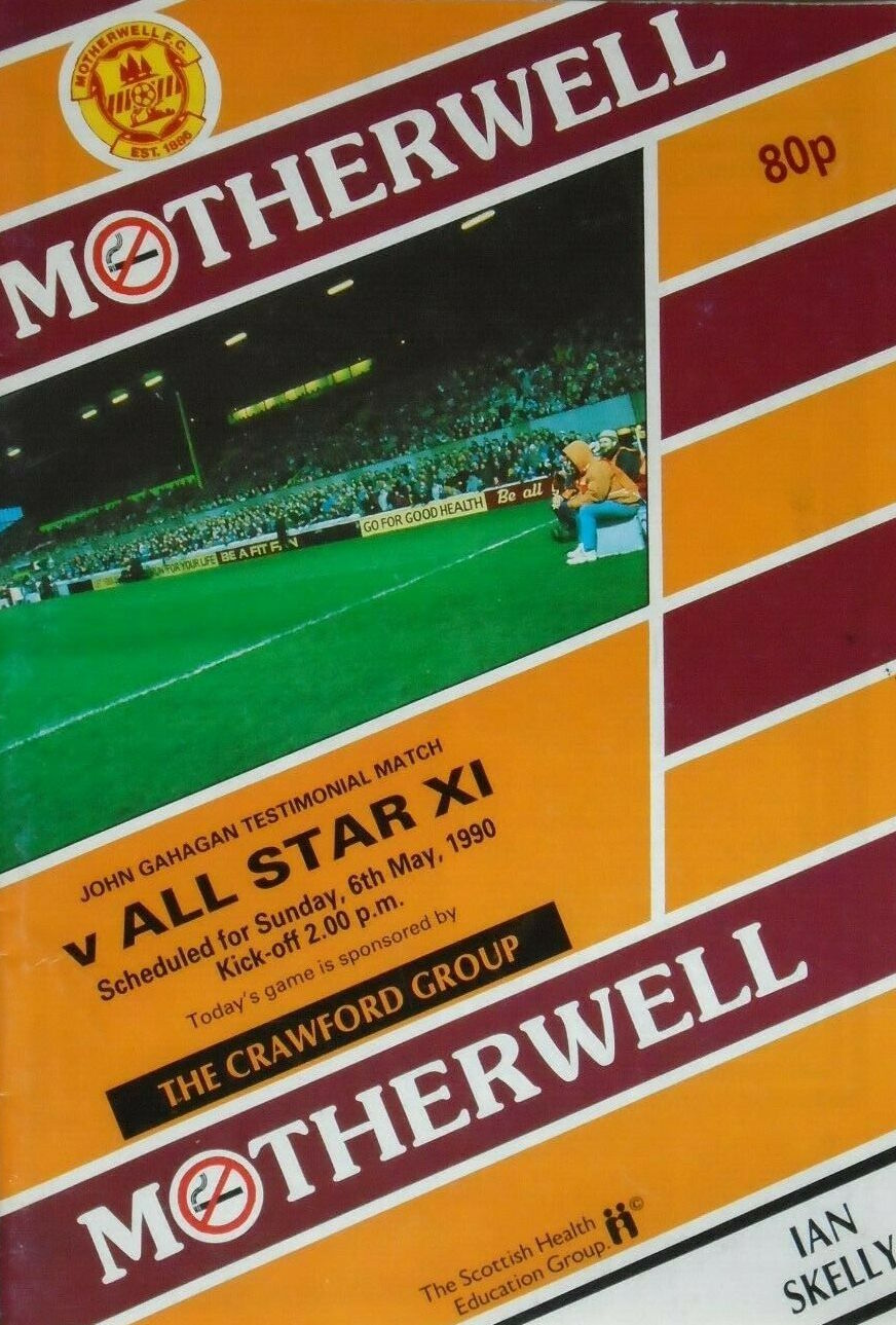 versus All Star XI Programme Cover